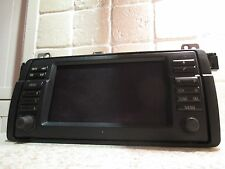 BMW E46 3 M3 SERIES ZB BORDMONITOR NAVIGATION WIDE SCREEN SAT NAV SATELLITE 16:9