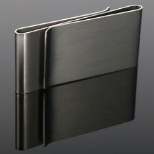 Stainless Steel Silver Slim Money Clip Purse Wallet Credit Card ID Holder Hot