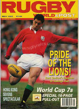 RUGBY WORLD MAGAZINE MAY 1993 - MELROSE, HORNETS - WSM, NORTHAMPTON COLTS