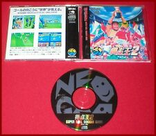 Super Sidekicks 2 Soccer for the Japanese Import Neo Geo CD System Complete!