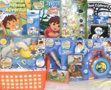 NEW DORA DIEGO EASTER TOY GIFT BASKET birthday toys ACTION FIGURE PLAYSET