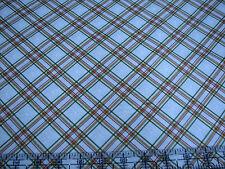 3 Yards Quilt Cotton Fabric - Maywood Studio Christmas Classics Snowflake Plaid