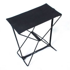 Portable Alumium Folding Stool Chair Fishing Camping Outdoor Seat + Carry Bag