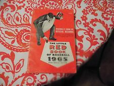 """""""The Little Red Book of Baseball 1965"""" 40th Annual Edition"""