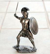 VERONESE ART GREEK SPARTAN Warrior HOPLITE Sword Shield STATUE FIGURE FIGURINE B