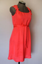 Paper Doll Zulilly Lined Sleeveless Fuchsia Pink Belted Party Dress Girls Sz 14
