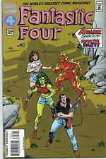 Marvel Comics Fantastic Four #394 November 1994 Acetate Print & Pull Out Book VF