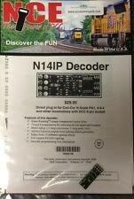 NCE 128 DCC N14IP DECODER HO & N 8 Pin Plug in Decoder 524-128 MODELRRSUPPLY-com