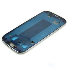 For Samsung Galaxy S3 i9300 SLV White Housing Metal Frame Front Plate Cover New
