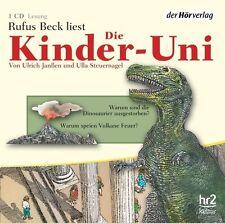 Die Kinder-Uni. Warum sind die Dinosaurier ausgestorben? Warum speien Vulka - CD