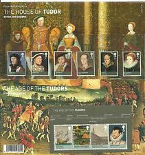 2009 The House of Tudor Presentation Pack 426 SG2924 to SG2929 &MS2930 Mint nh