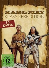 KARL MAY-KLASSIKEREDITION 16 DVD NEU