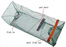 Crab Prawn Shrimp Crayfish Lobster Crawdad Foldable Fishing Gear Fish Trap Net