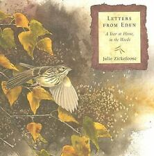Letters From Eden: A Year at Home, in the Woods-ExLibrary