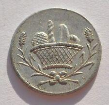 France French Revolution Hard Times Antique Aluminium Token Coin
