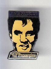 RARE PINS PIN'S .. MUSIQUE ROCK POP MUSIC ELVIS PRESLEY PROSERPINE ~BG
