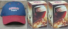 NEW CHIMAY BELGIUM GOBLET/CHALICE BEER .33L/11.2oz GLASS W/ FREE CHIMAY HAT