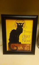 Vintage Tournee Du Chat Noir De Rodolptte Salis Black Cat Print Poster  10x12
