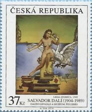 SALVADOR DALI  AMAZING ART 2014 CZECH REPUBLIC PERFECT MNH