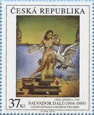 SALVADOR DALI  AMAZING ART 2014 CZECH REPUBLIC PERFECT MNH