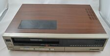Vintage Panasonic PV-1334R Omnivision VCR VHS Player Recorder 1985 1980s Works