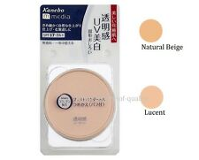 "JAPAN Kanebo media Pressed Powder AA 6g ""With case"" SPF17 PA+ / Color Lucent"