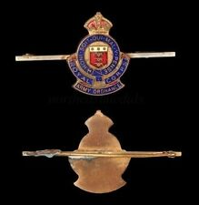 Royal Army Ordnance Corps Bar Brooch Badge / Sweetheart Brooch