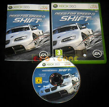 NEED FOR SPEED SHIFT XBOX 360 Versione Italiana 1ª Edizione ••••• COMPLETO