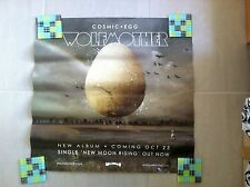 WOLFMOTHER Cosmic Egg Album Promotional POSTER VINTAGE RARE New Moon Rising