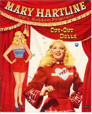 VINTGE UNCUT 1959 MARY HARTLINE PAPER DOLLS HD LASER REPRODUCTION~LO PR~HI QUA