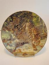 Jaguar Big Cat Plate Let Us Survive Artist Donald Grant