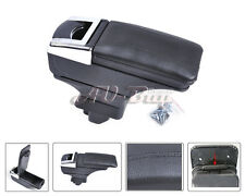 STORAGE BOX ARMREST CENTRE CONSOLE FOR 07~11 NISSAN VERSA/ TIIDA / LATIO LEATHER