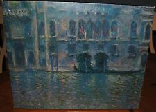 1971 PALAZZO DA MULA, VENICE BY CLAUDE MONET BRAND NEW PUZZLE SHRINK WRAP INTACT