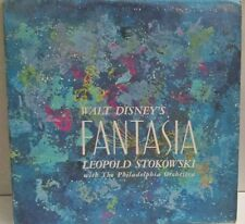 Leopold Stokowski - Walt Disney's Fantasia 3LP Vinyl w/ Booklet Vista Stereo 101