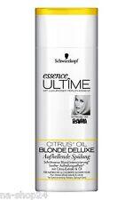 250 ml Schwarzkopf essence Ultime éclaircissant Irrigation Blond DE LUXE