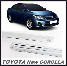 Chrome Window door sun visor molding For  TOYOTA NEW COROLLA (2007 ~ 2013)/
