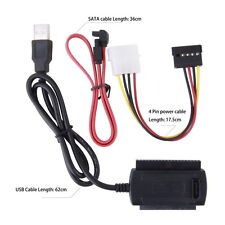 Converter Cable SATA/PATA/IDE to USB 2.0 Adapter for 2.5''/3.5'' Hard Drive AE