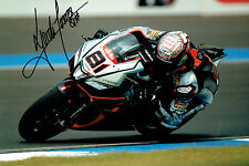 Jordi TORRES 2015 Donnington SIGNED 12x8 Photo Superbike AFTAL Autograph COA