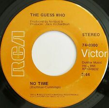 GREAT PSYCH ROCK 45 THE GUESS WHO ON RCA HEAR - VERSAND KOSTENLOS AB 5 45S!