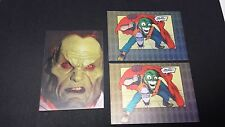 The Mask & Mask Returns Tech-Chrome Trading Cards - T8, T9 x2 - Cardz 1994