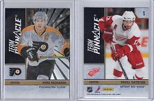 MIKE RICHARDS FLYERS PAVEL DATSYUK RED WINGS RUSSIA 2010-11 TEAM PINNACLE SP #1