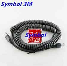 USB to RJ45 Coiled Cable Fo Motorola Symbol LS2208 LS4208 DS9208 Barcode Scanner