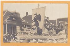 Real Photo Postcard RPPC - Norse Float - Aegir Sea Giant
