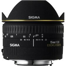 NEW Sigma EX 15mm f2.8 DG Diagonal Fisheye Lens For Canon EOS