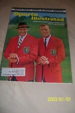1962 Sports Illustrated THE MASTERS Arnold PALMER Free Shipping AUGUSTA NATIONAL