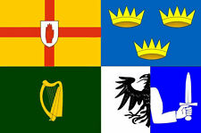 Ireland Four Provinces Flag 5'x3' Irish Provences St Patrick's Day