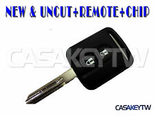 NEW NISSAN REMOTE FOB & UNCUT KEY BLADE NOTE E11 MODEL NAVARA D40 R51 KD40