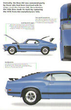 1970 Ford Mustang Boss 302 Article - Must See !!