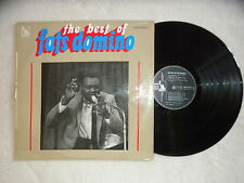"LP FATS DOMINO ""The Best of"" LIBERTY/PATHE MARCONI SLBX 340754 FRANCE µ"