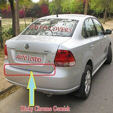 ★Premium Quality Rear Trunk Dicky Chrome Trim/Garnish for Volkswagen Vento★